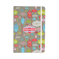 "Miranda Mol ""Ornate Silver"" Ornaments Everything Notebook"