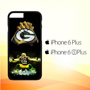 Green Bay Packers X4780 iPhone 6 Plus|6S Plus Case