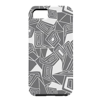 Heather Dutton Fragmented Grey Cell Phone Case