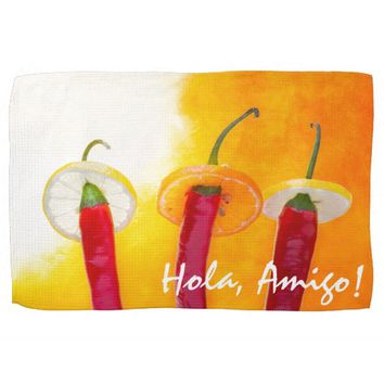 The Red, The Hot, The Chili Towel