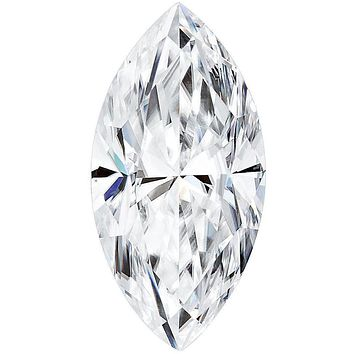 Marquise Forever One Charles & Colvard Loose Moissanite Stone
