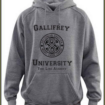 gallifrey university custom crewneck hoodie for unisex