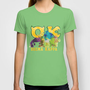 oozma kappa monsters university T-shirt by Sara Eshak