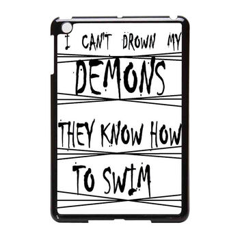 Bring Me To The Horizon I Can Not Drown My Demons They Know How To Swim iPad Mini Case