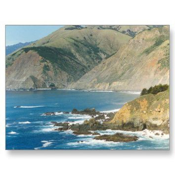 BIG SUR Country California Postcard from Zazzle.com
