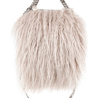 Stella McCartney - The Falabella mini faux fur tote