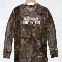 Women's Camo Long Sleeve RealTree® - American Country Girl®