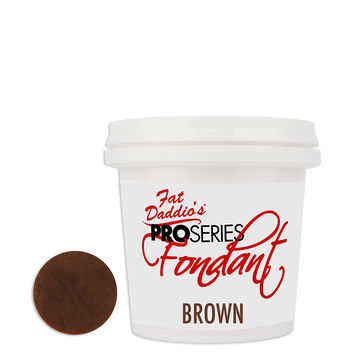 Brown Fat Daddios Fondant 8oz
