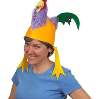 Oktoberfest Colorful Rooster Hat