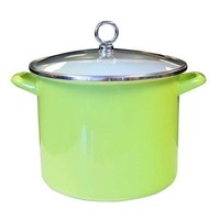 One Kings Lane - Cook in Color - Stock Pot, Green