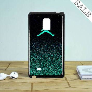 CREYUG7 Nike Air Jordan Jump Mint Glitter Samsung Galaxy Note 5 Edge Case