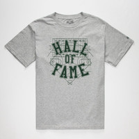 Hall Of Fame Field Of Dreams Mens T-Shirt Heather Grey  In Sizes
