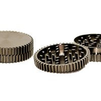 Sharper Two Piece Ridged Herb Grinder