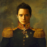 Elijah Wood - replaceface Art Print by Replaceface