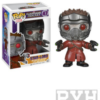 Funko Pop! Marvel: Guardians Of The Galaxy - Star Lord - Vinyl Bobble Head