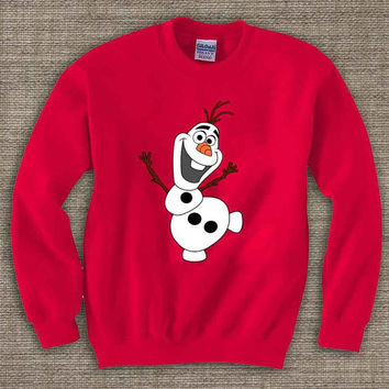 olaf  merry christmas ya filthy animal ,Ugly Chistmas Sweater. Holiday Sweatshirt. Holiday Shirt. Christmas Swetshirt.