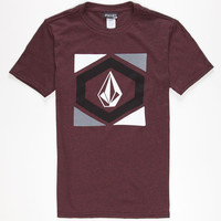Volcom Diltern Boys T-Shirt Heather Red  In Sizes