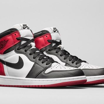 Best Deal Nike AIR JORDAN 1 RETRO 'BLACK TOE'