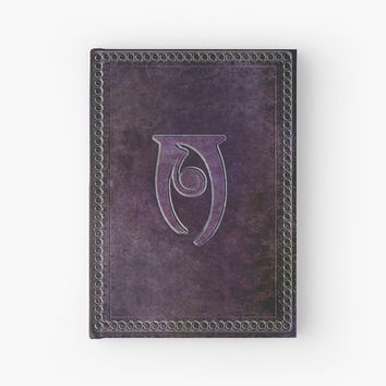 'Skyrim Conjuration Spell Tome Hardback Journal' Hardcover Journal by LiteraryGifts