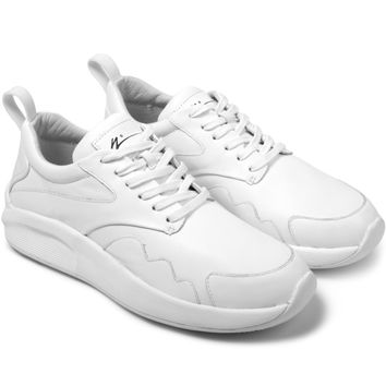 Article No. White Leather/White 0502-0234 Sneakers | HYPEBEAST Store.