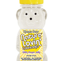 Nature Lovin' Honey Bear Water Based Lubricant - 6 Oz