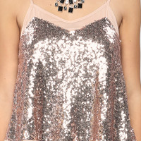 Sequins Cami Top