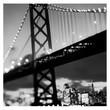 BAY BRIDGE FRAMED PRINT BY MICHAL VENERA