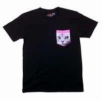 BLACK CAT POCKET TEE – Odd Future