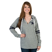 Dallas Cowboys PINK Tunic Hoodie | PINK | Womens | Cowboys Catalog | Dallas Cowboys Pro Shop