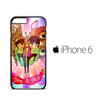 Dan and Phil vector Z1035 iPhone 6 Case