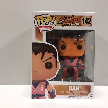 Funko POP! Dan #142 Vinyl Figure!! Street Fighter!! Capcom!!