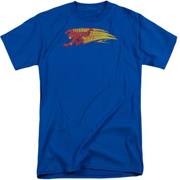 Dc - Fastest Man Alive Short Sleeve Adult Tall Shirt Officially Licensed T-Shirt