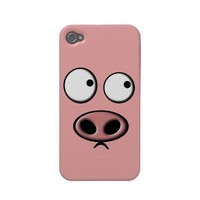 Pig Phone Iphone 4 Cases from Zazzle.com