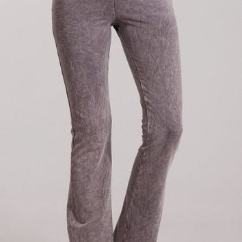 French Terry Bootcut Pants