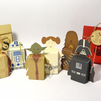 Star Wars emotibox - Customized geek paper box for season greetings, birthday wishes, expressing emotions