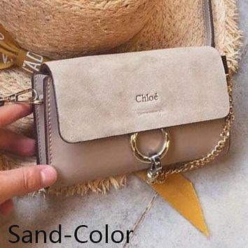 Hot Sale ''Chloe '' Trending Women Stylish Leather Shoulder Bag Crossbody Satchel Sand-Color I-WXZ2H