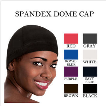 Hip-hop cap paintless pocket hat casual cap wig cap spandex dome cap coconut oil