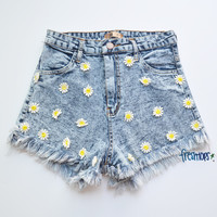 JADE DENIM SHORT