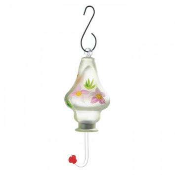 Yellow Butterfly Hummingbird Feeder