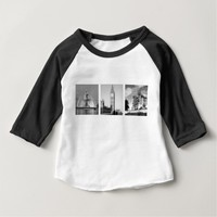 Create-Your-Own 3 Photo Collage Shirts