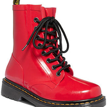 Dr. Martens Women's Boots, Drench Welly Rain Booties - Winter & Rain Boots - Shoes - Macy's