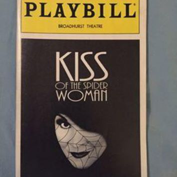 Kiss Of The Spider Woman Playbill