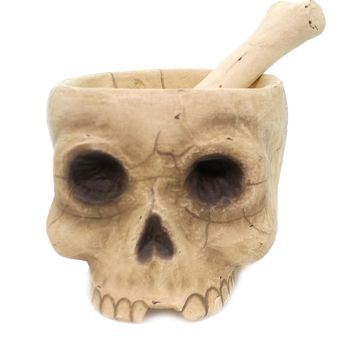 Mr. Bones Mortar and Pestle