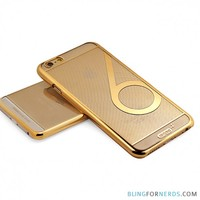 Gold Striped Case - iPhone 6 Plus