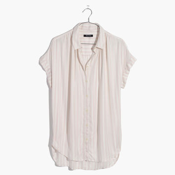 Central Shirt in Stripe : shopmadewell AllProducts | Madewell