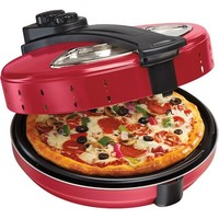 Hamilton Beach Enclosed Pizza Oven, Red - Walmart.com