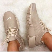 NIKE Air Presto Khaki White Small Hook NIKE Air Presto Khaki Fashion Women/Men Running