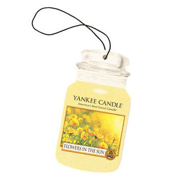 Flowers in the Sun : Car Jar® (Single, Paperboard) : Yankee Candle