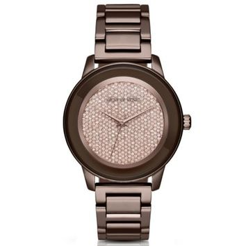 Kinley Pavé Sable Watch | Michael Kors