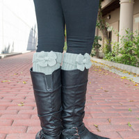 Bow Boot Socks Leg Warmers